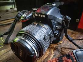 Nikon D5200 with 18-55 and Tamron 70-300 Zoom Lens