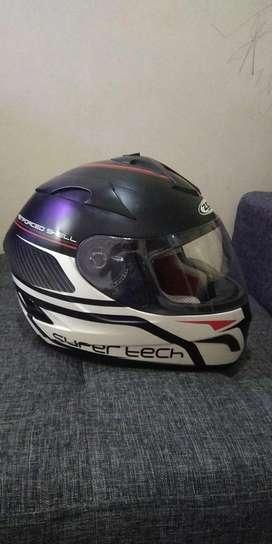 Helm zeus 806 size L murmer double visor