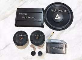 • Paket Audio Audio + 2din kenwood 419