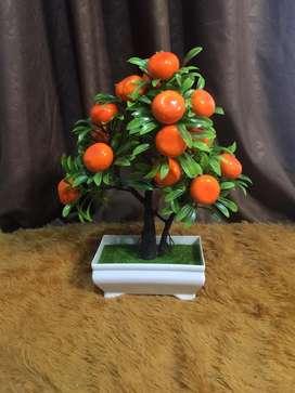 pajangan pohon buah plastik