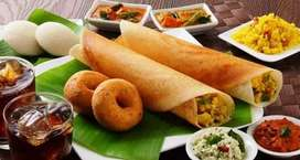 South Indian, Chinese Dish & Nasta Item Cook
