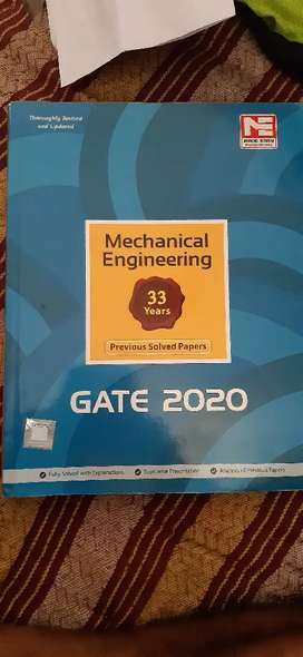 made essy mechenical engineering Gate 2020 previous solved papers