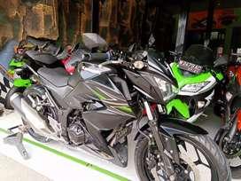 Ninja Z 250 cc Black 2015 Registrasi (fms) grs