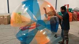 waterball atau wisata air permainan wahana air