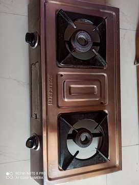Gas Stove with two burner