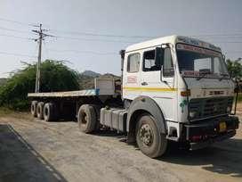 Tata 4018 trailer platform