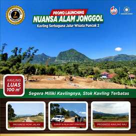 Dijual, Tanah Kavling Dijalur Utama Villa Khayangan Bogor