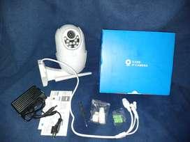 Cctv kamera tahan air waterproof luar ruangan monitoring langsung HP