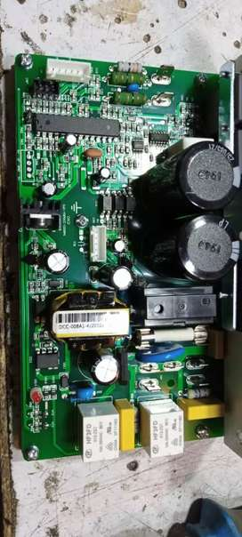 Treadmill DC motor cards and AC motor cards
