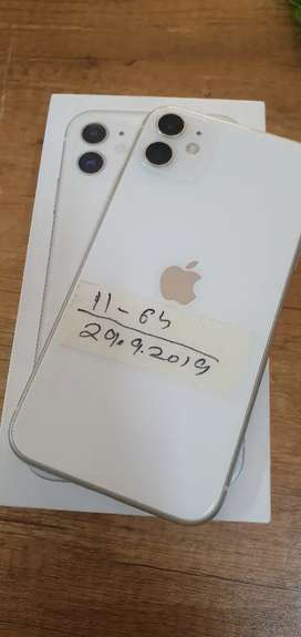 Iphone 11 - 64GB - White Colour - Indian Phone With Bill