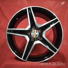 VELg mobil racing ring19 HSRwheel PCD 5×112 cicilan 0% DP 10%