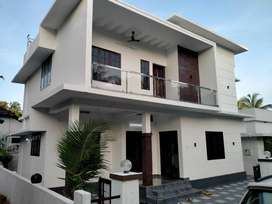 thrissur kozhukully stylish new villa 4 cent 3 bhk
