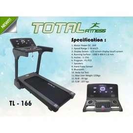 Ready treadmil listrik komersil Motor 3Hp