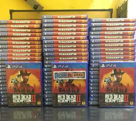 New Segel PS4 Red Dead Redemption 2 Original Game PS4
