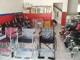 Toko kursi roda lipat standar dan travelling