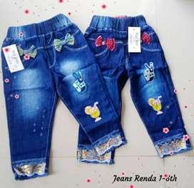 Jeans Renda dan Hotpants
