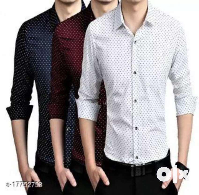 Combo Fancy Glamorous Men Shirts