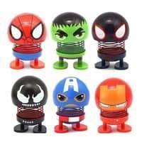 Kepala Boneka Emoji Toys Marvel Goyang Pajangan Dashboard Mobil