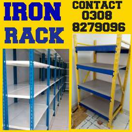 AAngle storage shelving racks