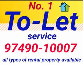 All types of rental property, kothi,Flat, Guest house