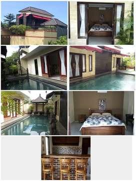 Rumah Vila siap huni murah dijual di Bali