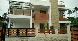 Ready to occupy 3 bhk 2000 sqft gated vila at varapuzha koonammav