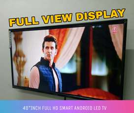 55 inches brand new Android LED TV with Warranty