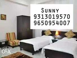 Near Local Market PG,Single Rooms 1/2/3 BHK In Patel Nagar,Karol Bagh