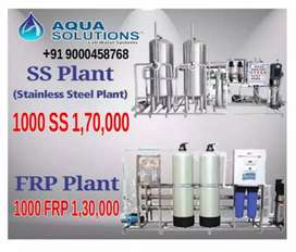 New Brand Ro Water Plant  500 Lph for One Hour Ro Plant