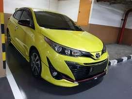 Toyota Yaris TRD Sportivo AT 2018 kuning istimewa