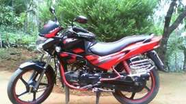 red model bike single rc good condeetion new tyre