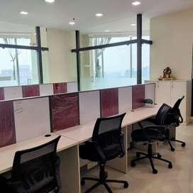 Fur office on rent in vashi near Station