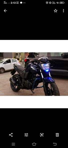 Fzs blue and black good