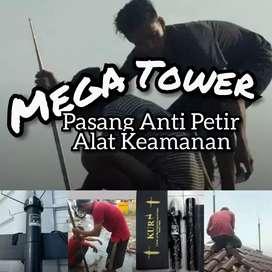 Agen Spesialis Pasang Anti Petir Wilayah Metro Utara / Lampung
