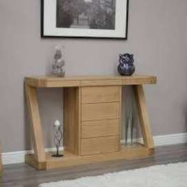 Oslo Oak Dressing Console