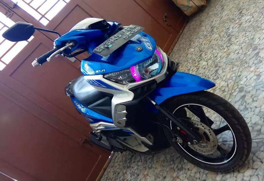 Yamaha GT 125 Eagle eye biru 2014 0