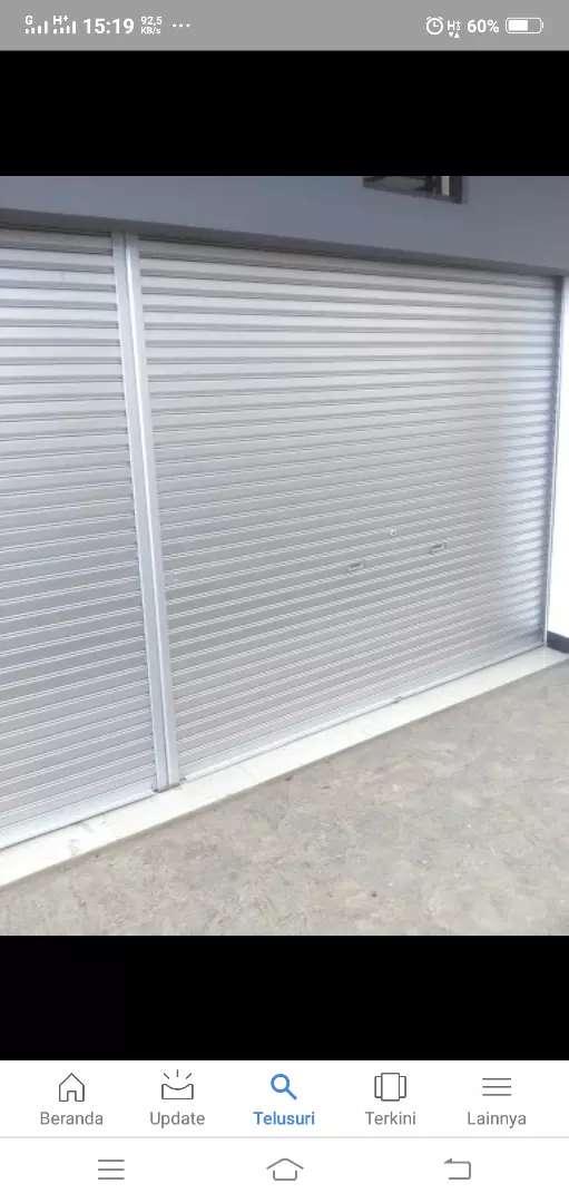 Rolling Door Folding Gate Murah 0
