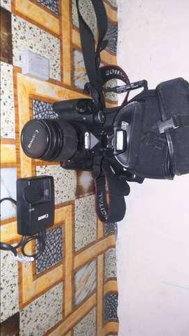 Dijual kamera DSRL canon 500d