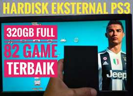 HDD 320GB Murah Meriah FULL 82 GAME KEKINIAN PS3 Siap Dikirim