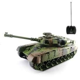 Mainan Remote Control Tank Army Special Edition (BISAREKBER)