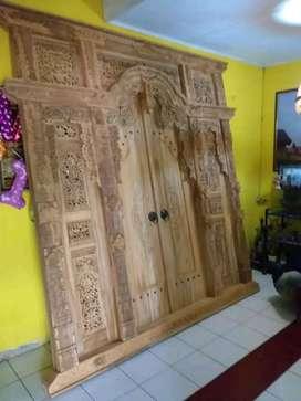 Pintu kusen ukir