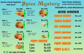 Spice Mystery (Home-made Fast Food)
