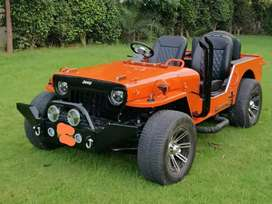 Rahul jeep modified- All jeeps order Base ready