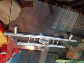 HONDA 125 DOUBLE ROD & ENGINE GUARD JUST LIKE BRAND NEW FOR SALE