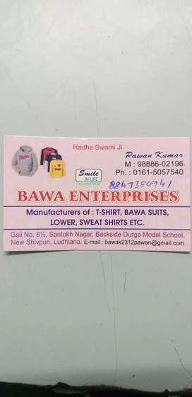 Kids-garments T Shirts Lower capri