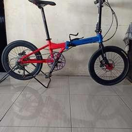 Sepeda lipat pacific Splendid upgrade