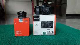 Sony a6000 lensa sel 50mm