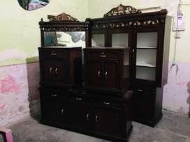 Side Table and cupboard