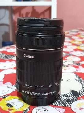 Lensa 18-135mm sesuai di foto