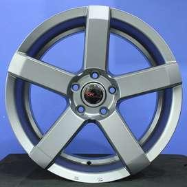 velg type racing STEVE JD5160 HSR Ring.18 Lebar.8 PCD.5X114,3 ET.42 SE